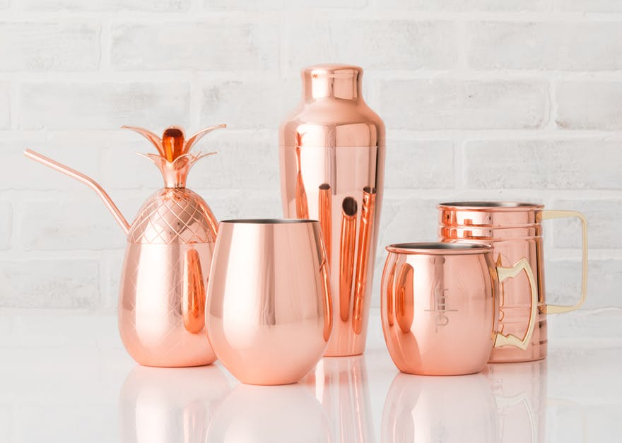 Copper Drinkware - Copper Cups Mugs and Steins | Confetti.co.uk