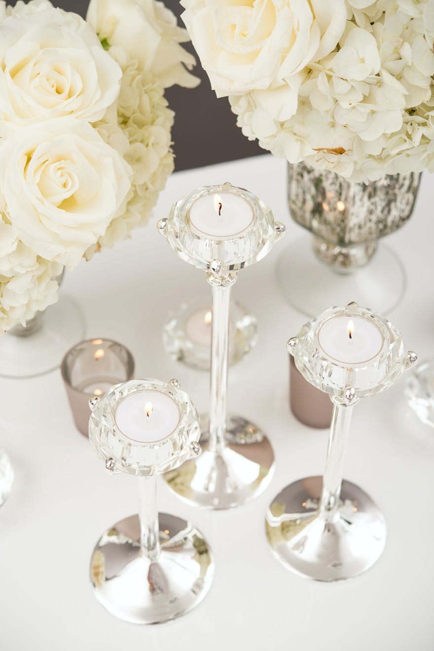 Diamond Shaped Tealight Candle Holders | Confetti.co.uk