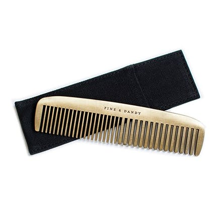 Fine And Dandy Brass Comb | Confetti.co.uk