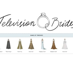 Wedding dresses from TV shows