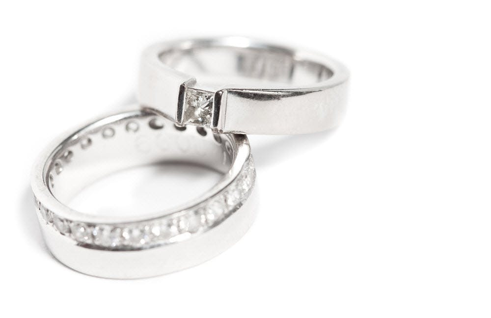 Matching Silver Rings