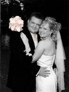 Stacey and Phil real life wedding