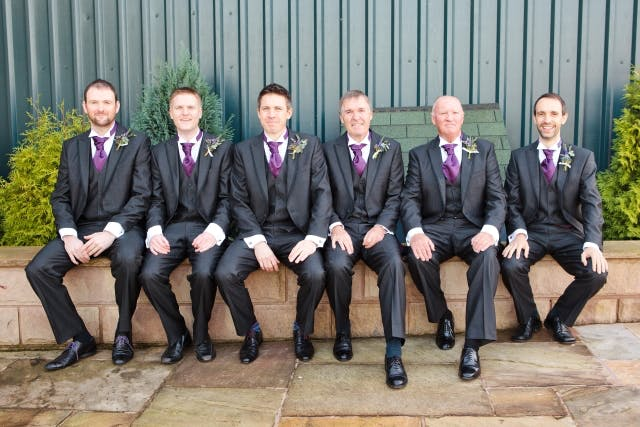 Groom Fathers And Ushers