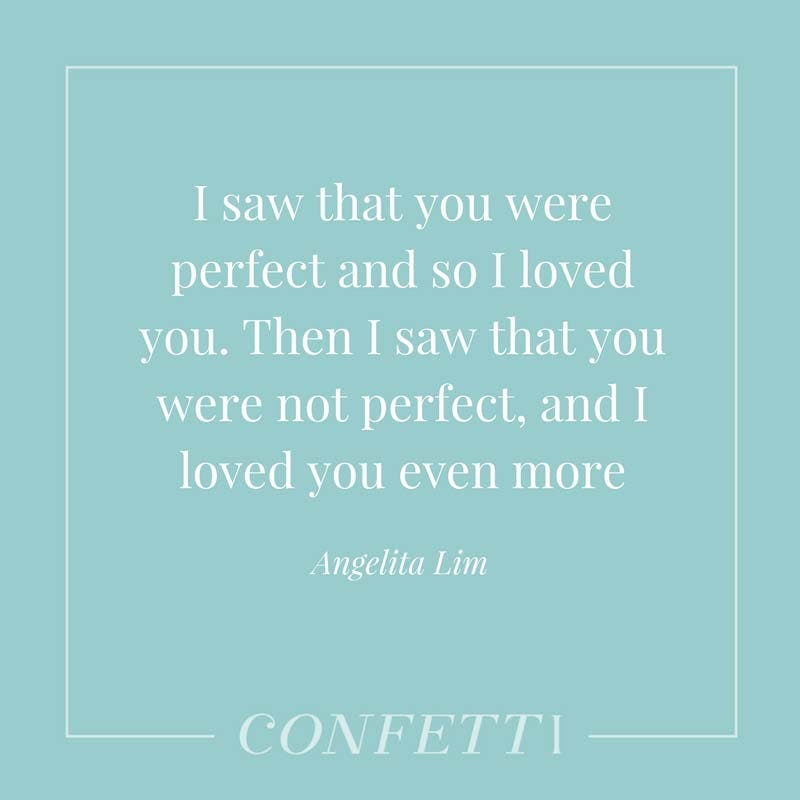 Angelita Lim romantic quote