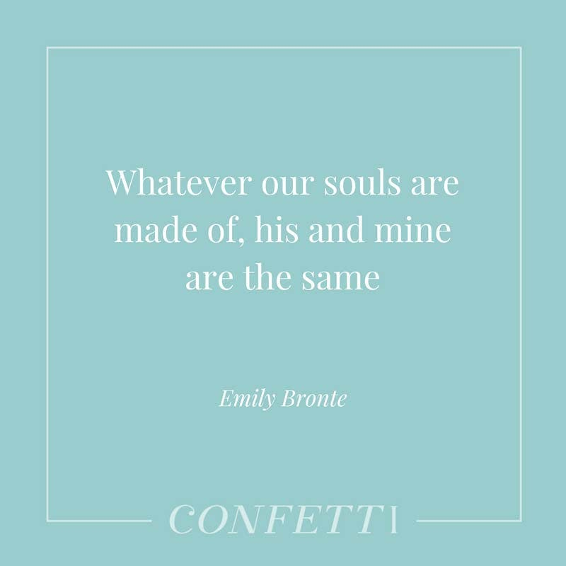 Romantic Emily Bronte Quote