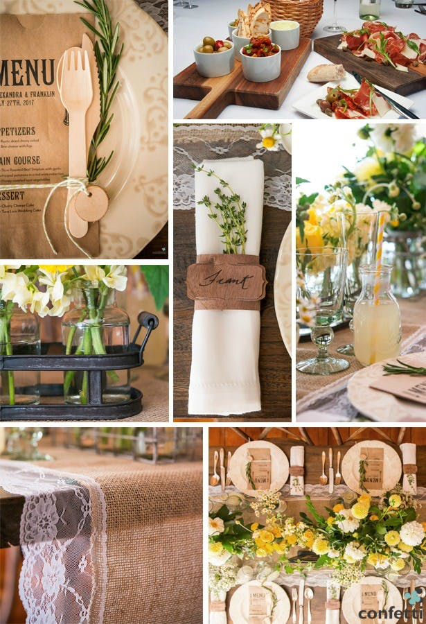 A Rustic Italian Engagement Dinner Party | Confetti.co.uk