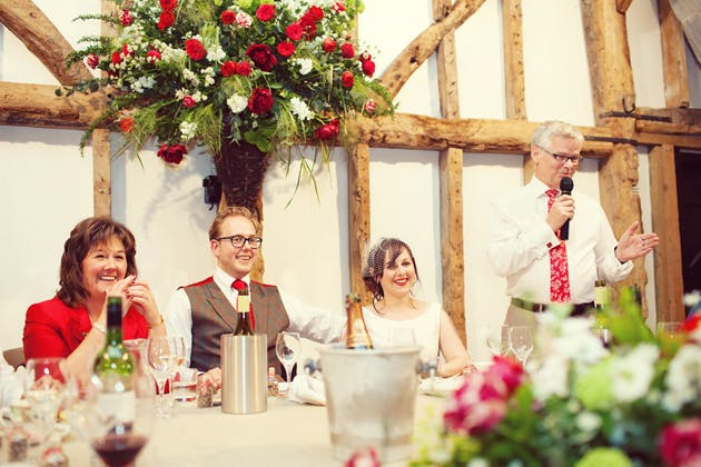 Father Of The Bride Speech Etiquette | Confetti.co.uk