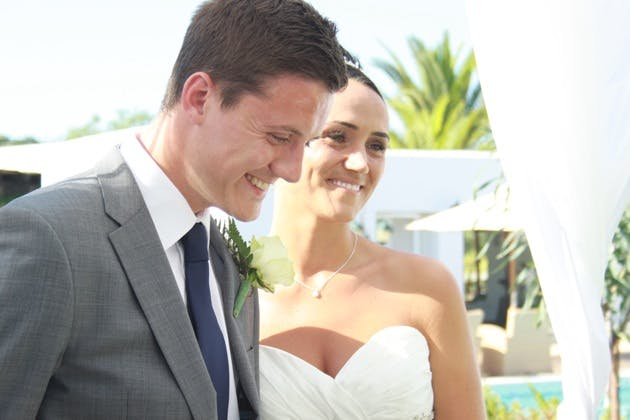 Brent and Lucie Ibiza Wedding
