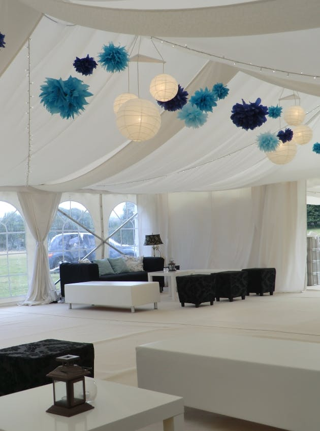 Black Cherry Events Chillout Marquee