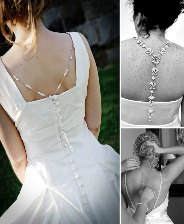 Back Drop Necklaces by Debbie Graham