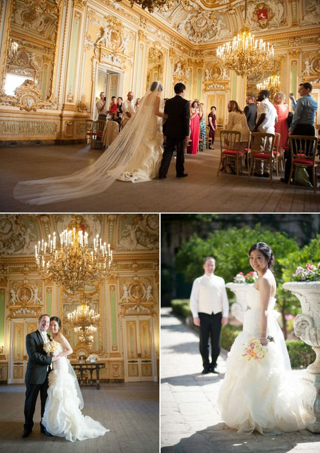 Weddings in Malta by Sarah Young Wedding Planner White and Gold Elegance