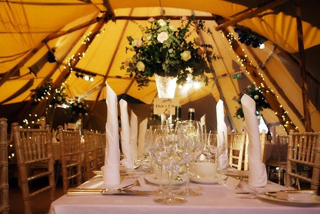 Highland Tipis Marquee