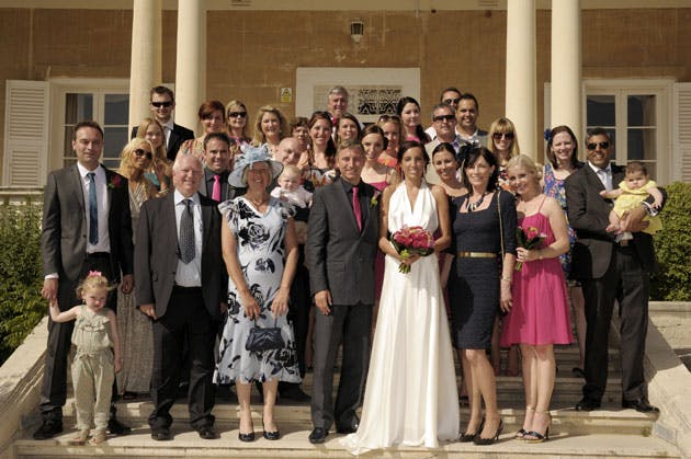 Malta Real Wedding by Sarah Young