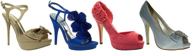 Bridesmaids Shoes by Barratts