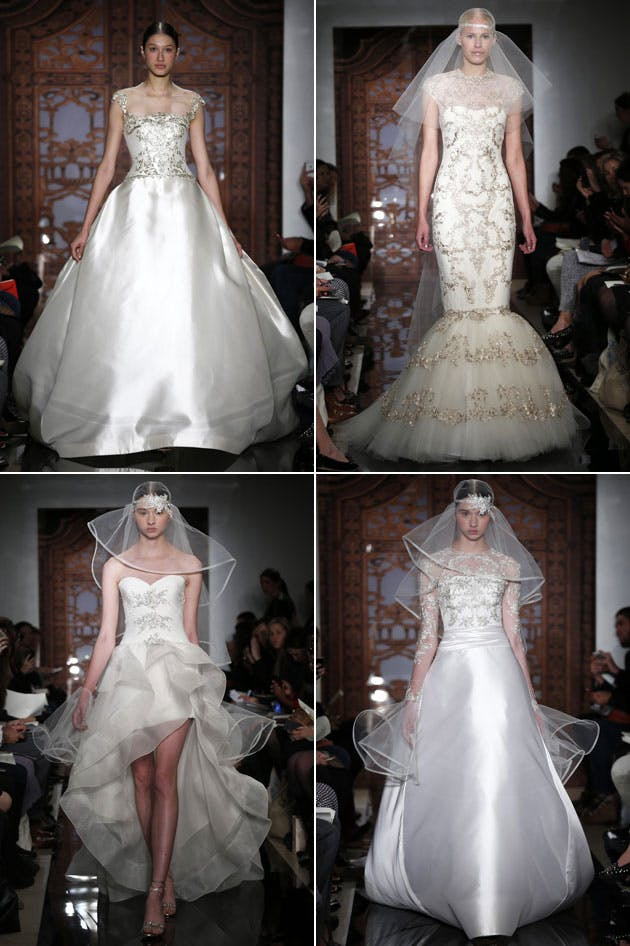 Reem Acra Fall 2013 Bridal Collection