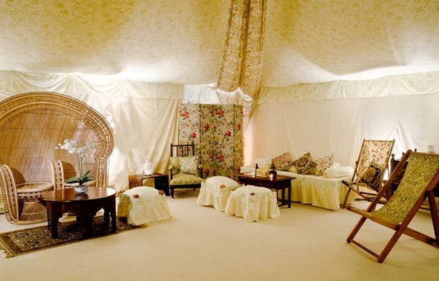 Vine Tent Lining by Complete Chillout Company | Confetti.co.uk