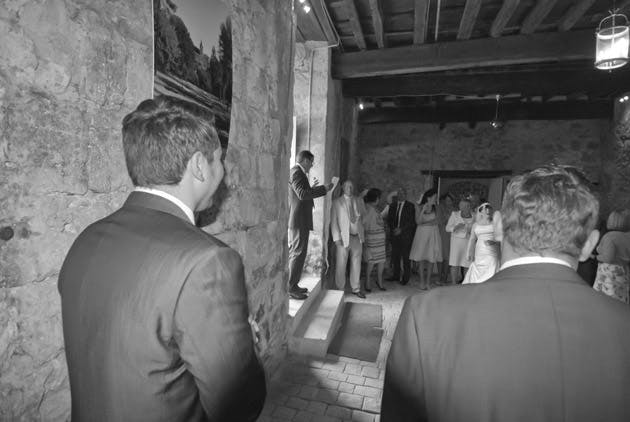 Laura & James's Real Wedding at Chateau de Lisse