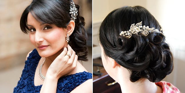 Bridal Hair by Camilla J Collins