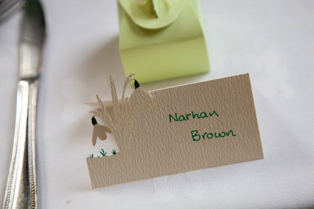 Table Decor Place Cards