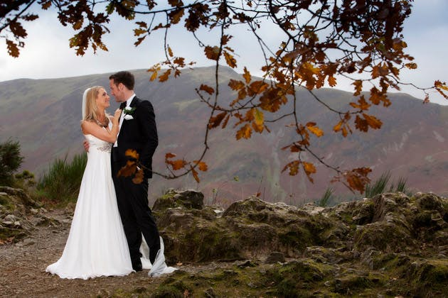 Jane and Andy's Autumn Real Wedding at Armathwaite Hall