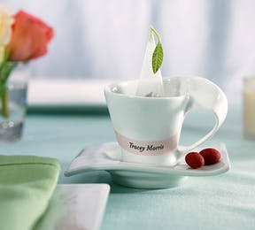 Swish Cup and Saucer Wedding Favour