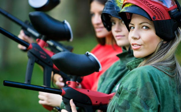 Hen Party Paintball