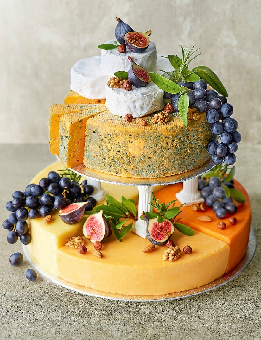 Cheese Wedding Cakes Get the Royal Seal of Approval - Confetti.co.uk