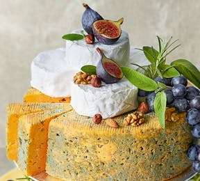 Cheese wedding cakes by Marks and Spencer | Confetti.co.uk