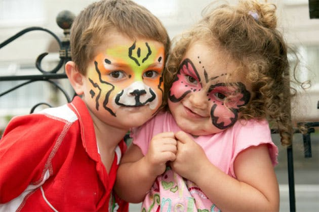 Wedding Entertainment Children's Face Painting, keep kids entertained