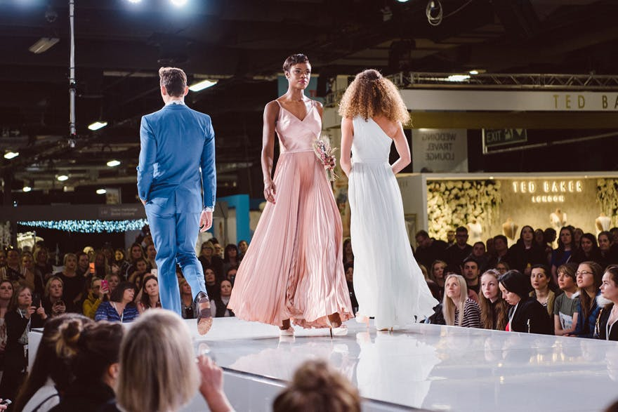 The National Wedding Show Catwalk Runway - Louise Bjorling Photo | Confetti.co.uk