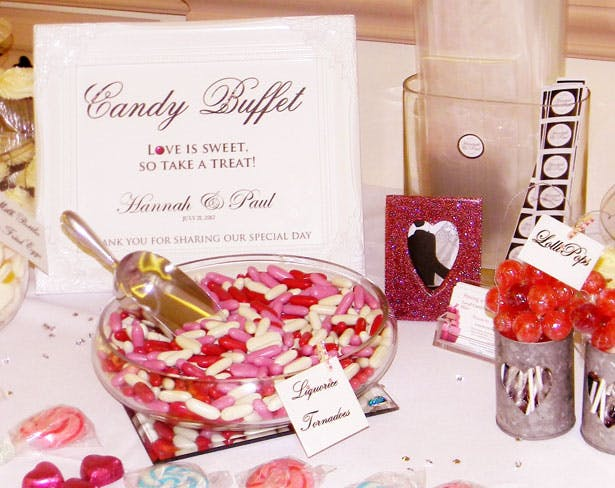 Personalised Buffet by Candy Buffet Hire