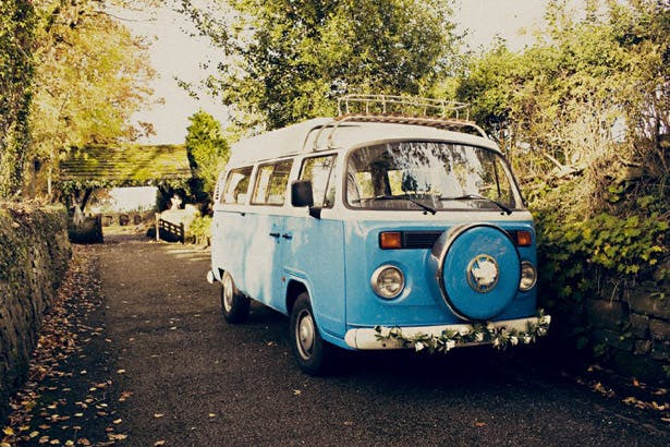 Wedding campervan