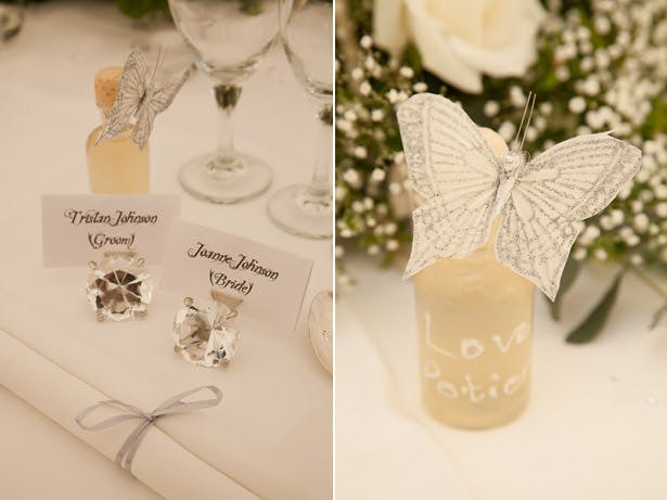 Ivory And Crystal Wedding Theme
