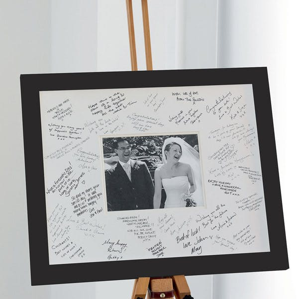 wedding frame bride groom