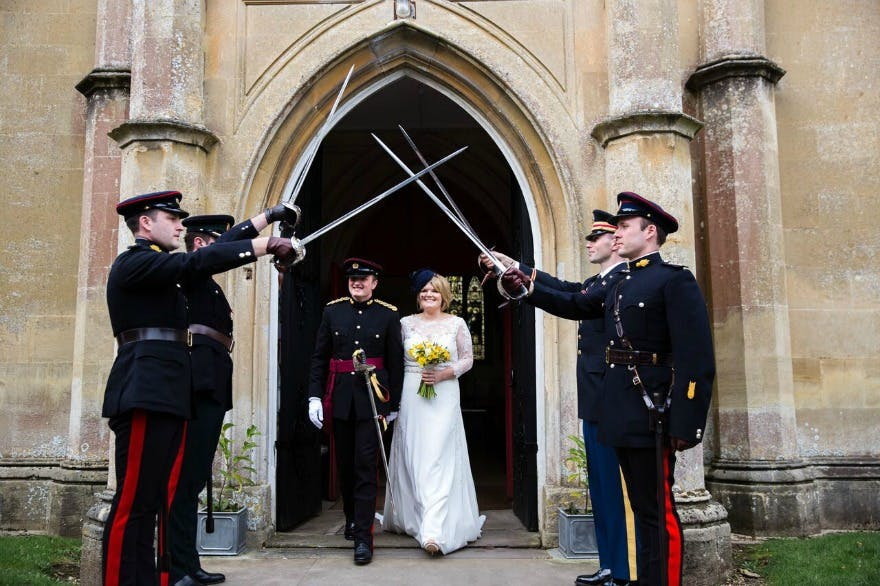 How to Plan a Military Wedding Ceremony - Confetti co uk