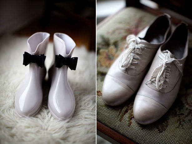 bridal laced shoes