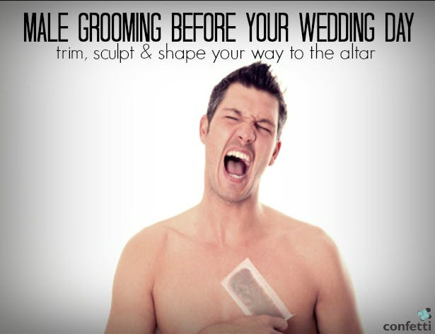 Male Grooming for your Wedding Day