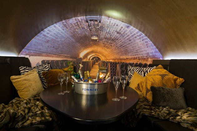 London's Voltaire Champagne Bar