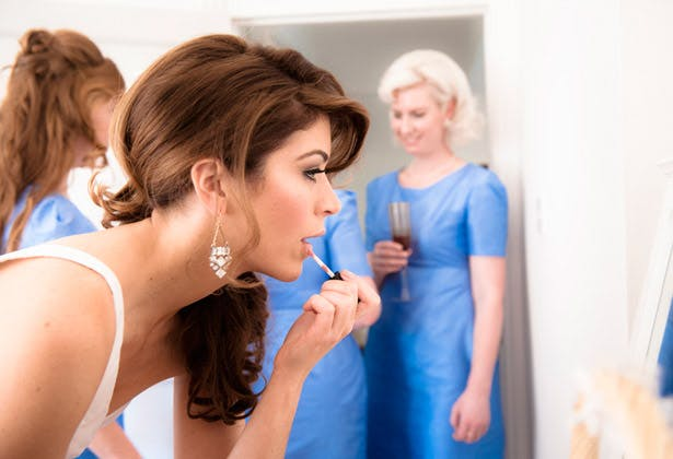 Bride Bridesmaids Makeup