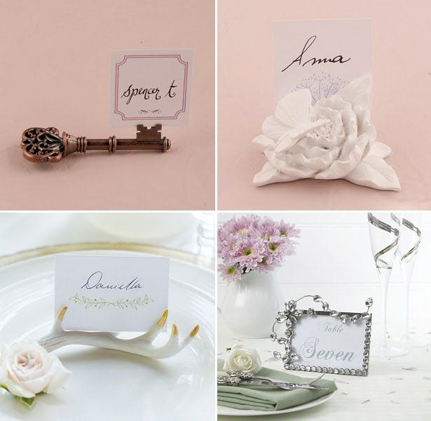 Simple and elegant table card holders
