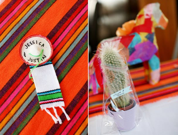 Mexican themed reception 4