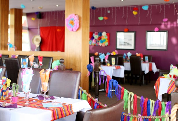 Mexican themed reception