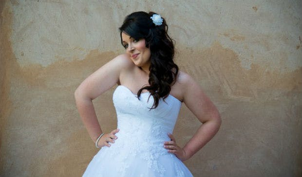 Second-hand bridal gown by Still White   Confetti.co.uk