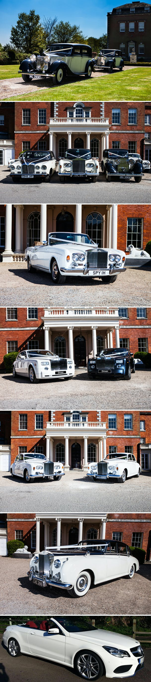 Weddings by Driven Wedding Cars and Transport