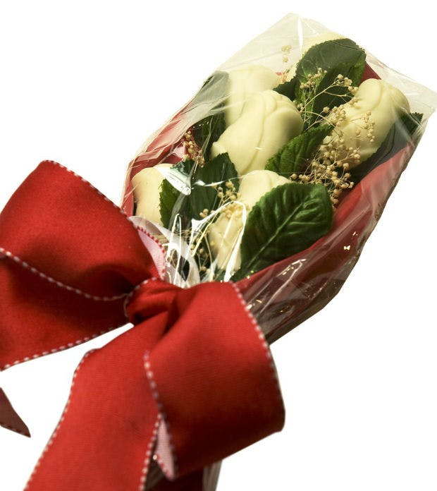 Chocolate roses by Le Chocolatier