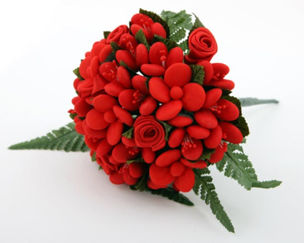 Red chocolate bouquet by the favour gallery