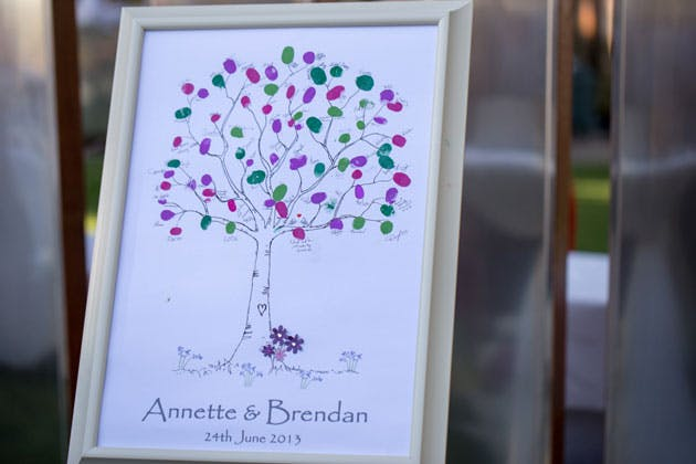 Personalised finger print tree