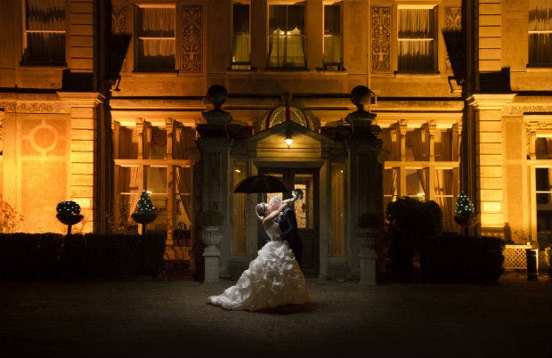 Dramatic wedding photography by Halo and Hobby