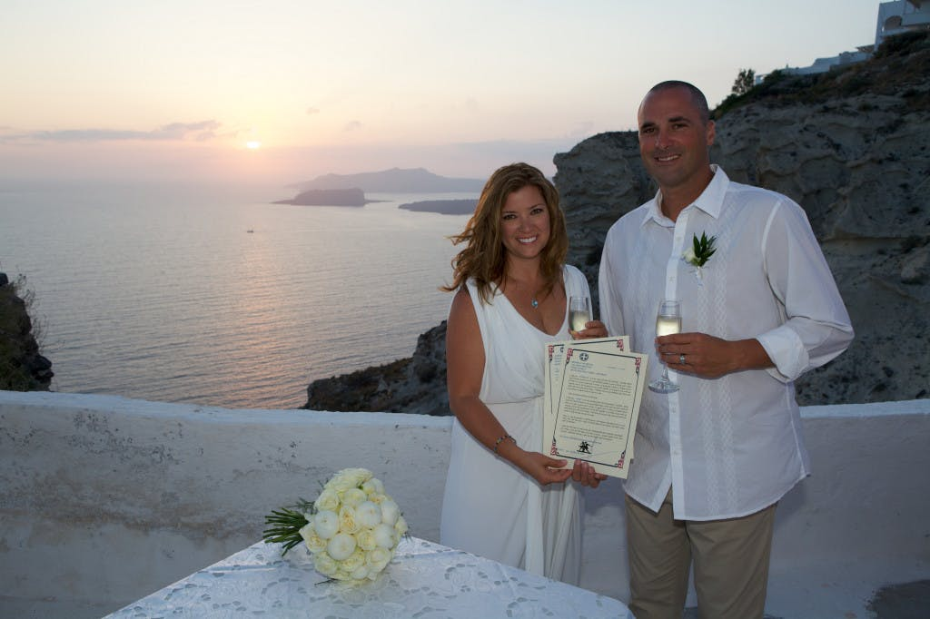 Marryme in Greece Santorini Wedding Packages