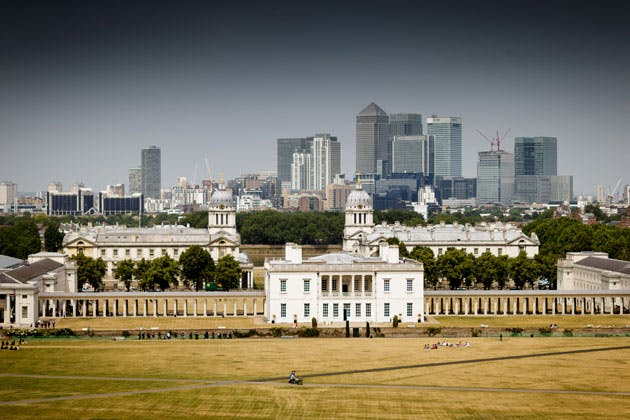 The Queen's House in Greenwich, London, UK